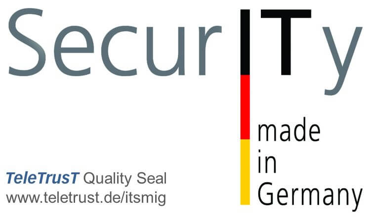 logo teletrust it security made in germany